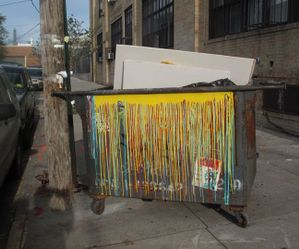 Trash Is Art_Even the garbage in Bushwick is art_rafael fuchs
